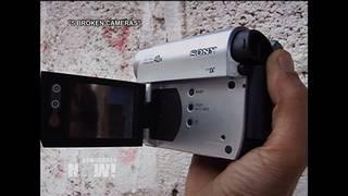 Broken cameras