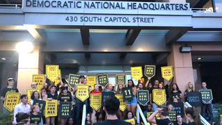 Seg3 sunrise movement dnc protest 1