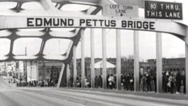 Selma march 1965 foot soilders 2