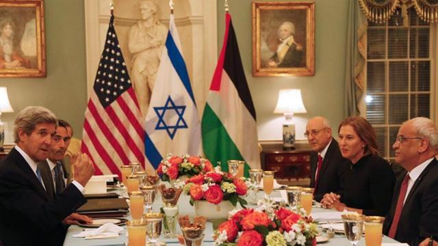 Israeli palestinetalks1