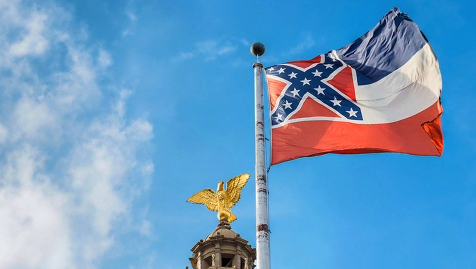 in student victory u of mississippi removes state flag