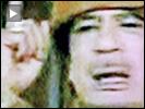 Gaddafi finger waving