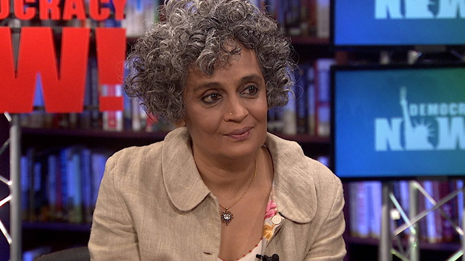 photo image Arundhati Roy on the Power of Fiction: Literature is
