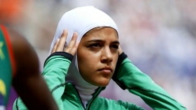 Olympics sarah attar 1