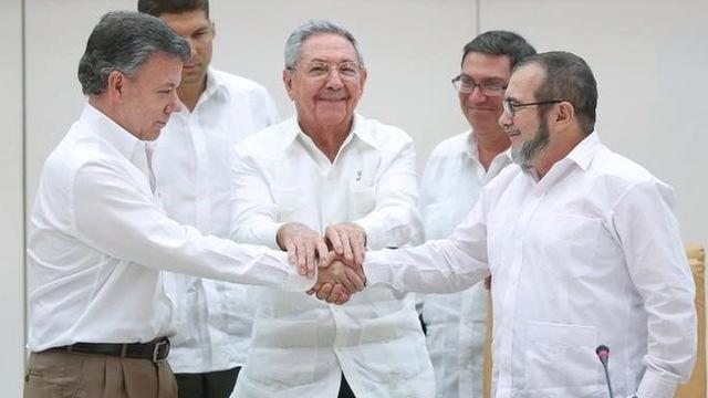 Colombia peacetreaty