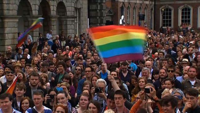 Ireland celebration
