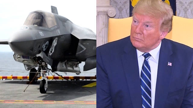 Seg1 us fighter jet trump split