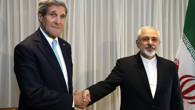 Kerry zarif iran nuke talks lausanne