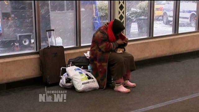 Button homeless