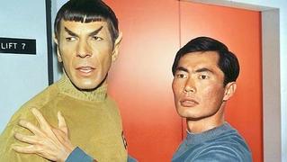 Takei nimoy sulu spock star trek