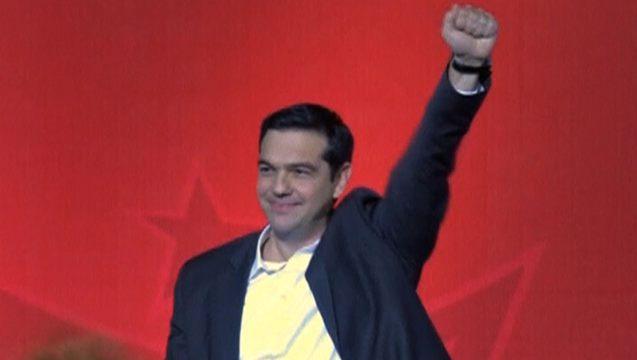 Tsipras anti austerity economy syriza