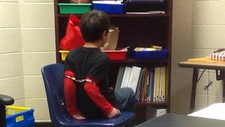 Handcuffedstudent