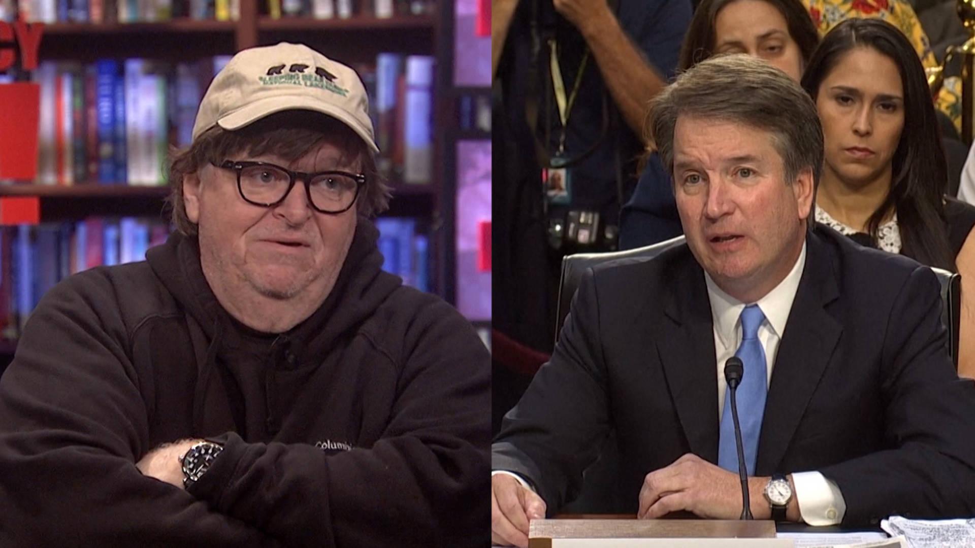 Michael Moore: Senate Must Take Dr. Christine Blasey Ford Seriously & Postpone Kavanaugh Hearing