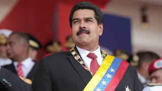 S1 nicolas maduro venezuelan president