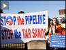 10,000 Surround White House to Protest Keystone XL Tar Sands Oil Pipeline