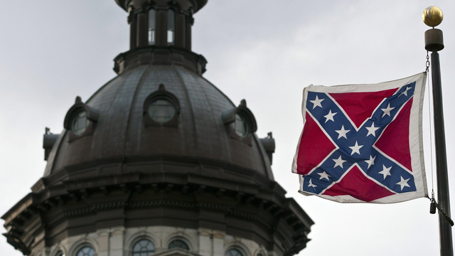 South carolina capitol confederate flag charleston church shooting