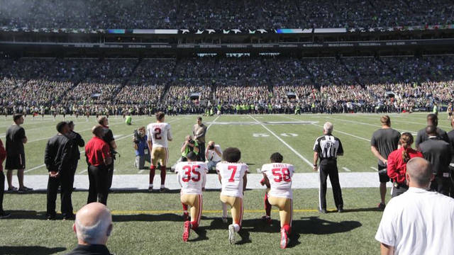 S1 nfl bans kneeling during national anthem