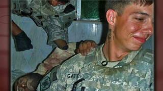 Button afghan photo