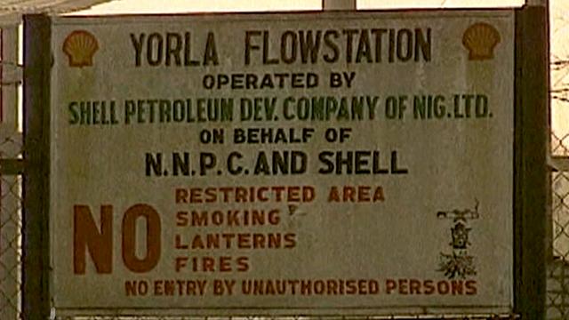 Nigeria shell
