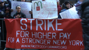Hundreds of Fast-Food Workers Strike for Living Wage, Inspired by Wal-Mart Strike