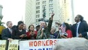 """We Have Come Together"": Inspired by Occupy Wall Street, Unions Join Activists for Historic March"