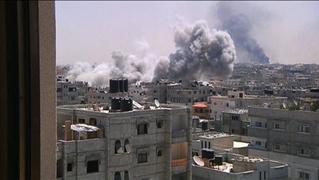 bombing zone