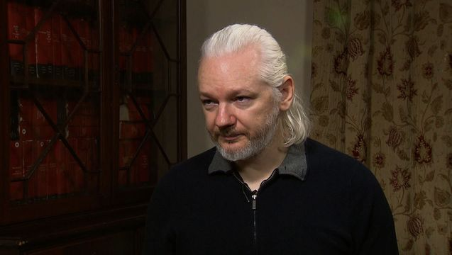 Assange no id