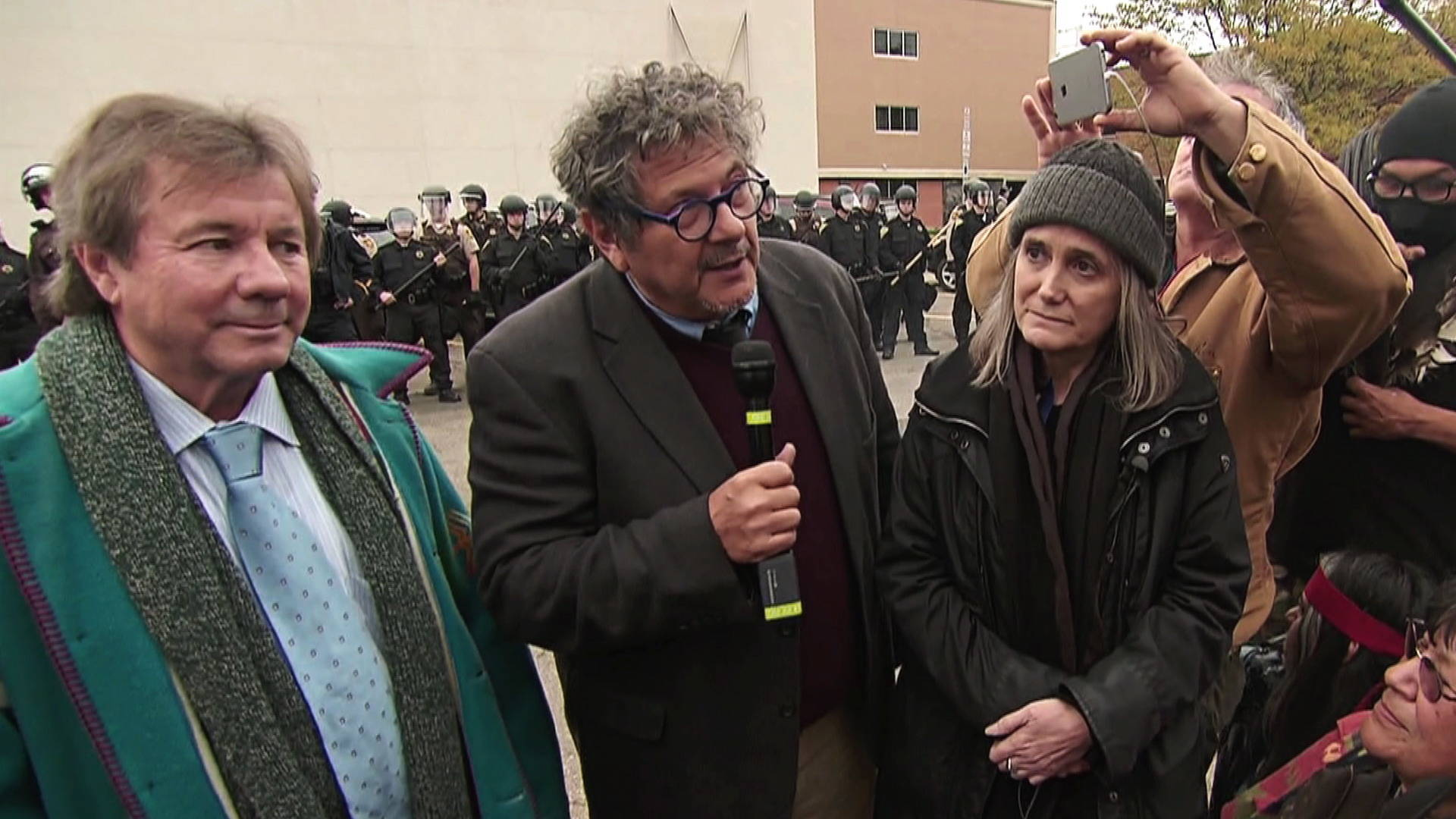 Press Freedom Victory Riot Charges Dropped Against Amy Goodman Over