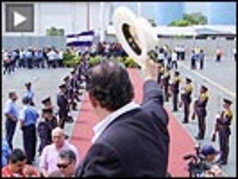 Zelaya plane