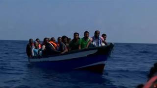 Seg refugees boat