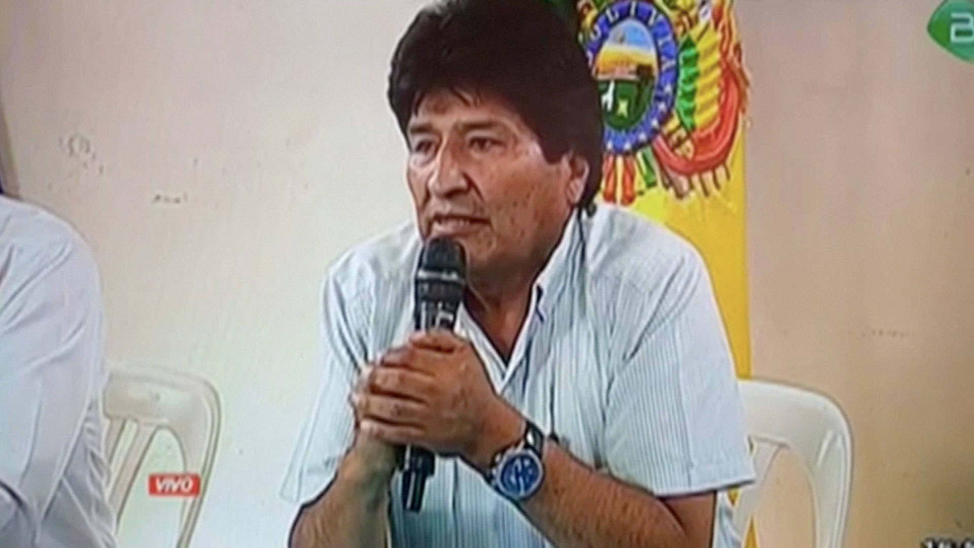 """This Is a Military Coup"": Bolivian President Evo Morales Resigns After Army Calls For His Ouster"