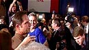 Romney Edges Out Tea Party-Backed Santorum as Iowa Caucus Kicks Off GOP Primaries