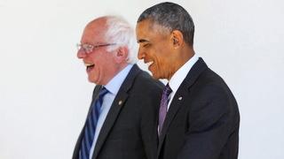 Obama sanders2
