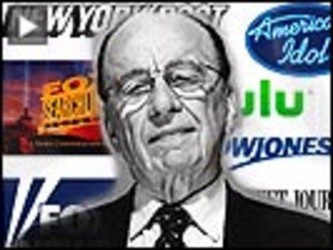 Murdoch empire button