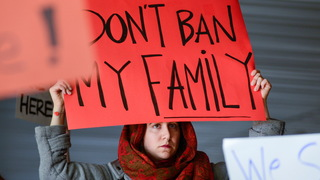 S2 travel ban sign