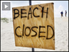 Beach-closed