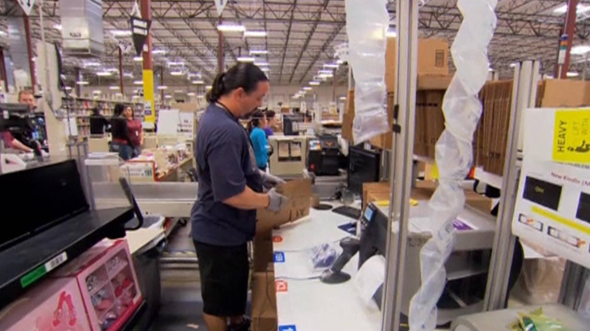 amazon warehouse picker resume