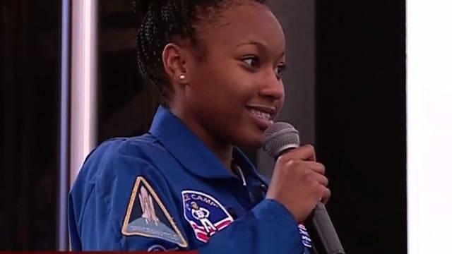 S3 aspiring astronaut