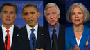 Expanding the Debate Exclusive: Third-Party Candidates Break the Sound Barrier as Obama-Romney Spar