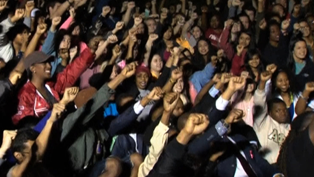 Oklahoma university sae fraternity protest