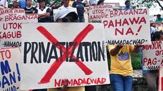 Privatization protest