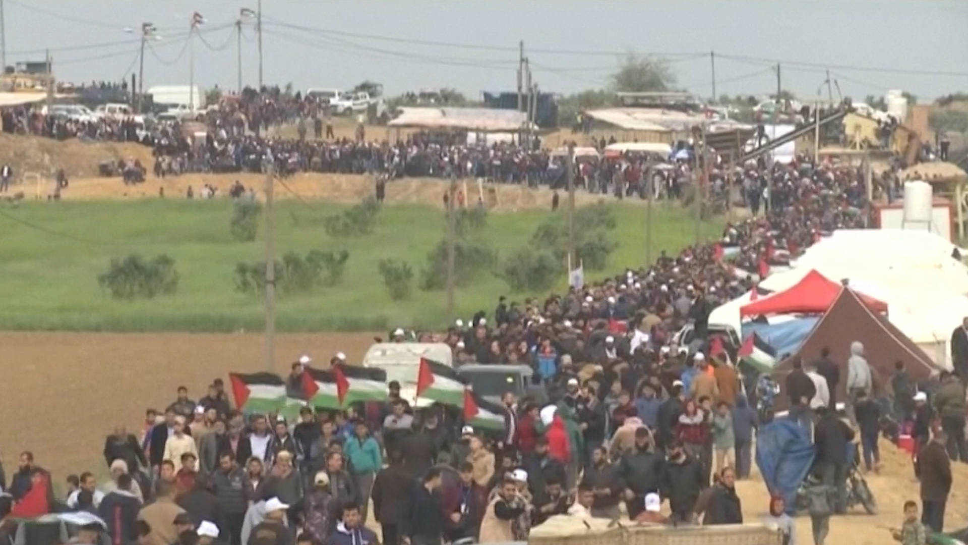 Image result for Images of the current Gaza March