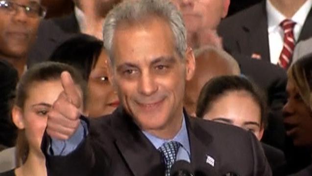 Rahm emanuel chicago mayor election win 1