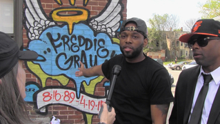 Baltimore freddie gray protests resident 1