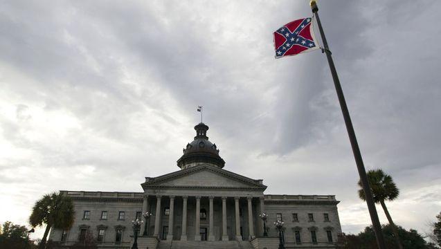 South carolina columbia confederate flag capitol 1