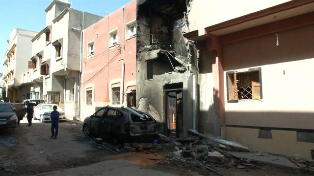 Seg libya homes hit