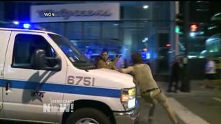 Button police repression