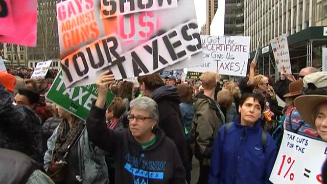 S1 trump tax protest