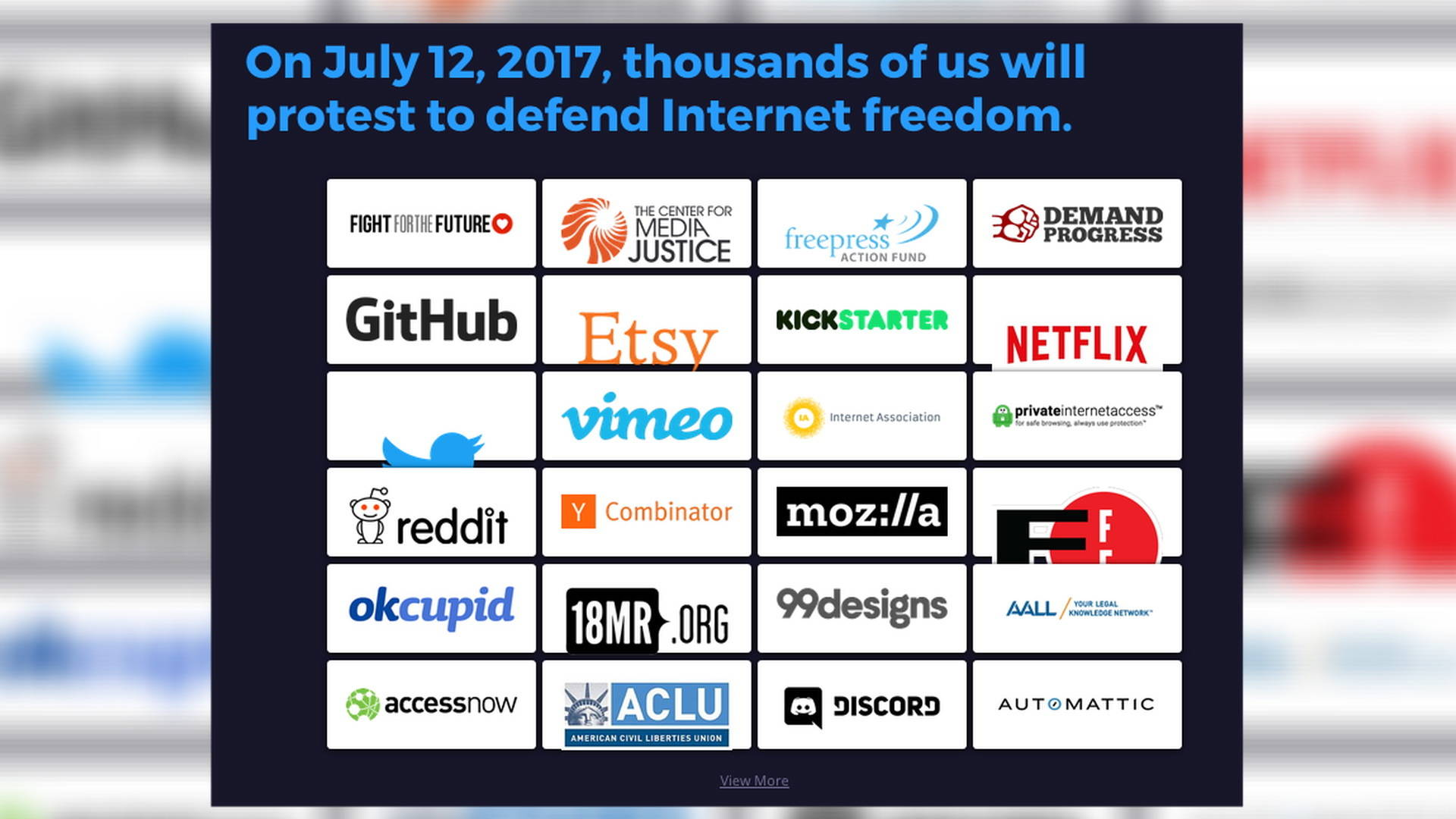 Net Neutrality Vote >> Battle For the Net: Mass Day of Action Aims to Stop Trump's FCC from Destroying Free & Open ...