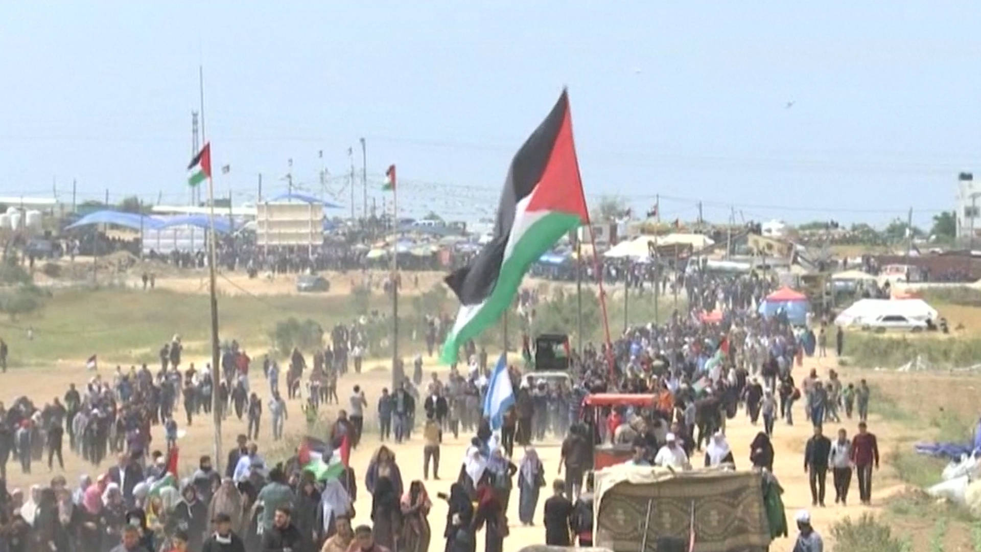 "Gaza: Palestinians Continue ""Great March of Return"" Protests for Third Straight Week"